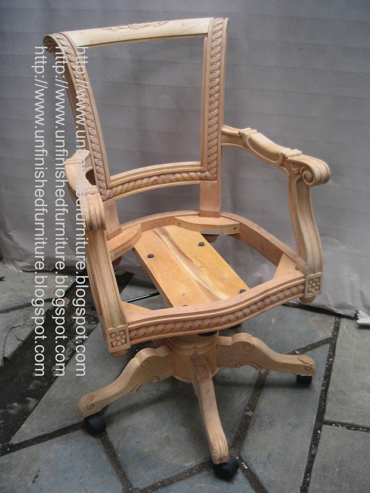 Unfinished classic furniture classic director chair unfinished wooden frame chair mahogany indonesia classic reproduction furniture