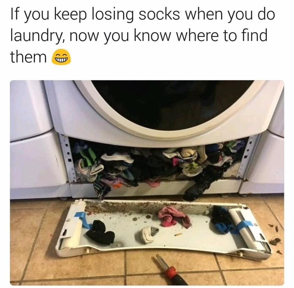 How To Get Lost Socks Out Of Washing Machine