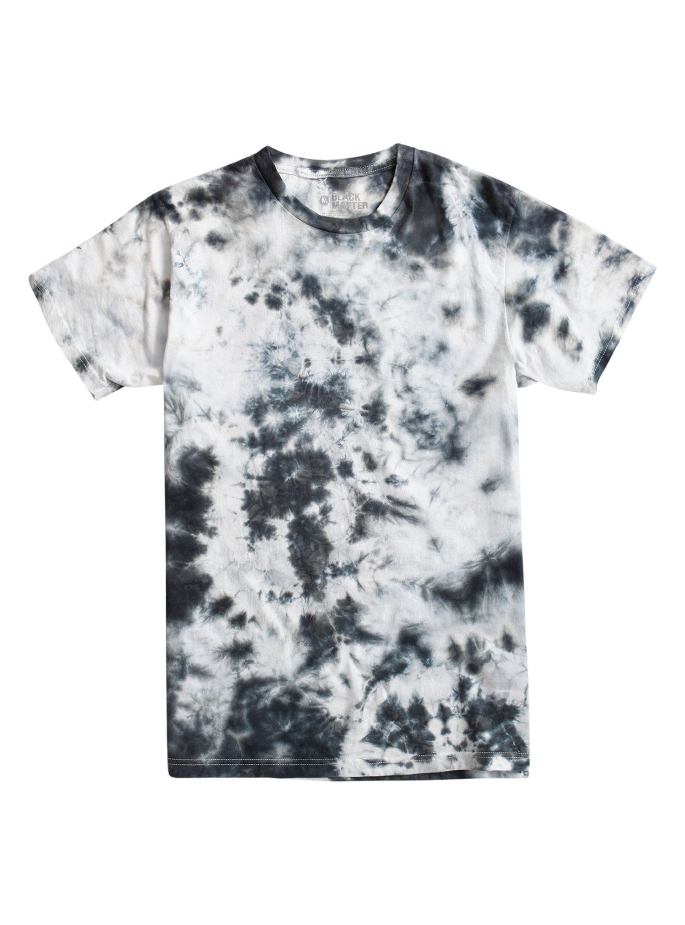f11e2ab94079d Black & White Tie Dye T-Shirt | /// WASH GARMENTS /// | Black tie ...