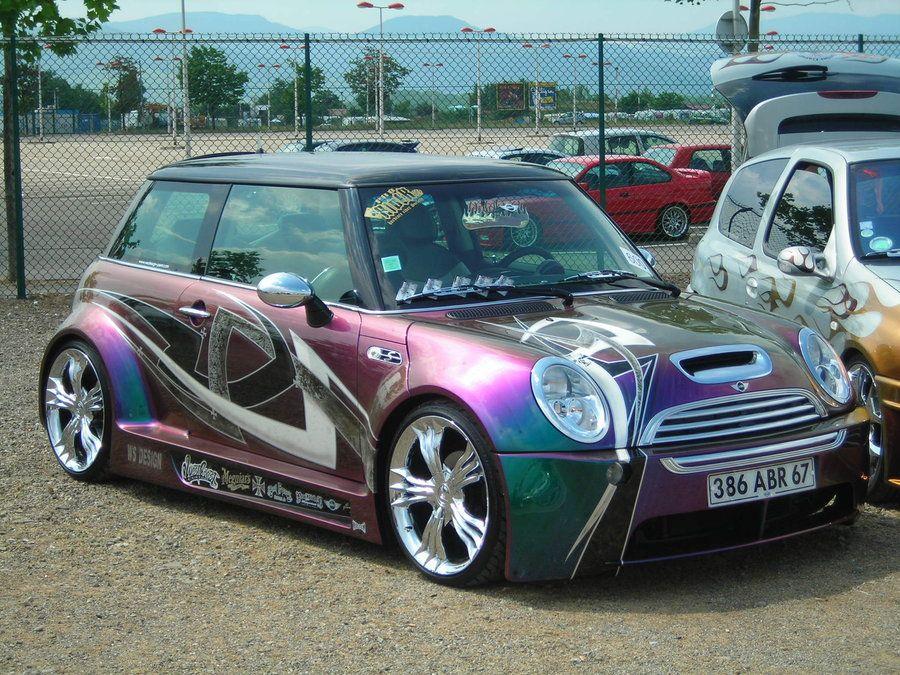 Crazy paint job Mini cooper tuning, Mini cooper, Mini driver