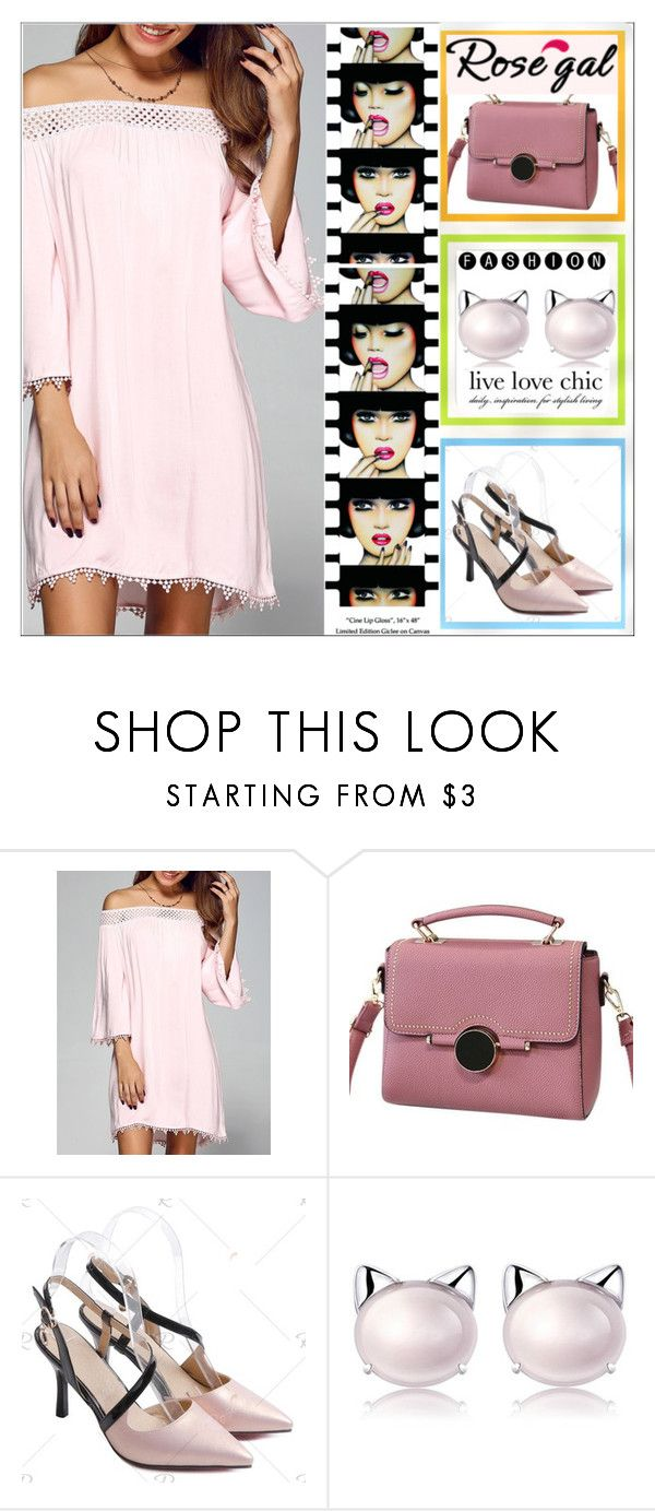 """""""Rosegal 89"""" by aida-ida ❤ liked on Polyvore featuring Anja"""