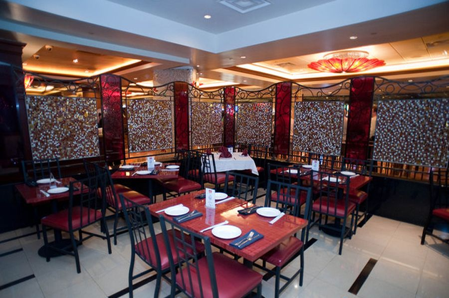 Elegant Contemporary Decor Asian Restaurant Interior Design Of Mings Table Las Vegas Main Dining Room