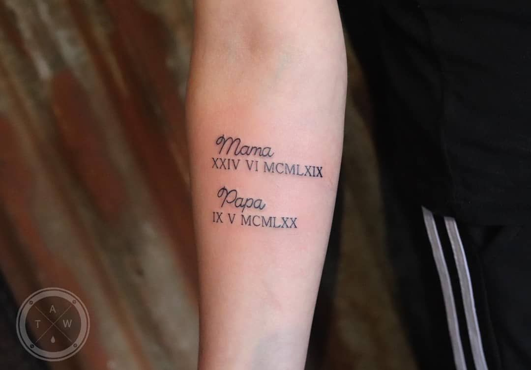 Meaningful Mom And Dad Tattoos If You Really 13