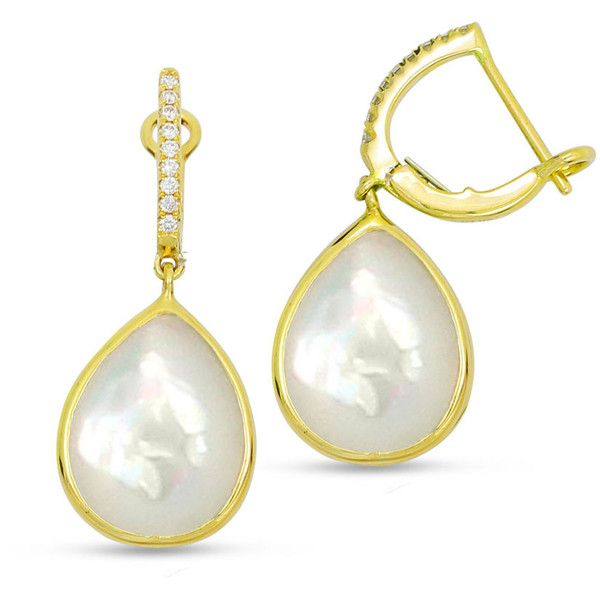 Frederic Sage 18K Mother-of-Pearl Earrings YEL8pQ0OH