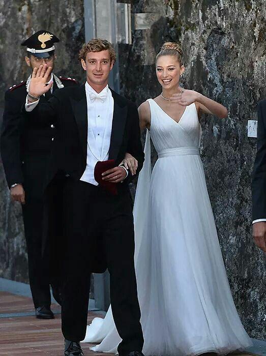 Pierre Casiraghi And Beatrice Borromeo Casiraghi Royal Wedding Gowns Royal Wedding Dress Wedding Dresses