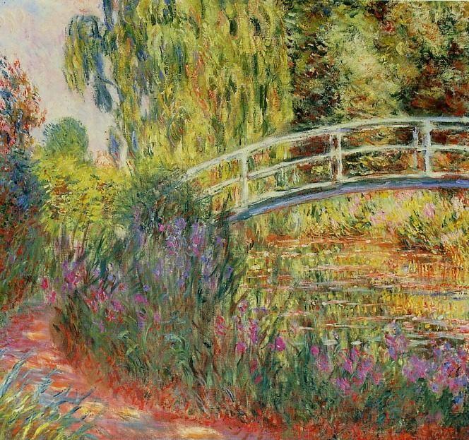 monet - Cerca con Google | Monet, Monet peinture, Pont japonais