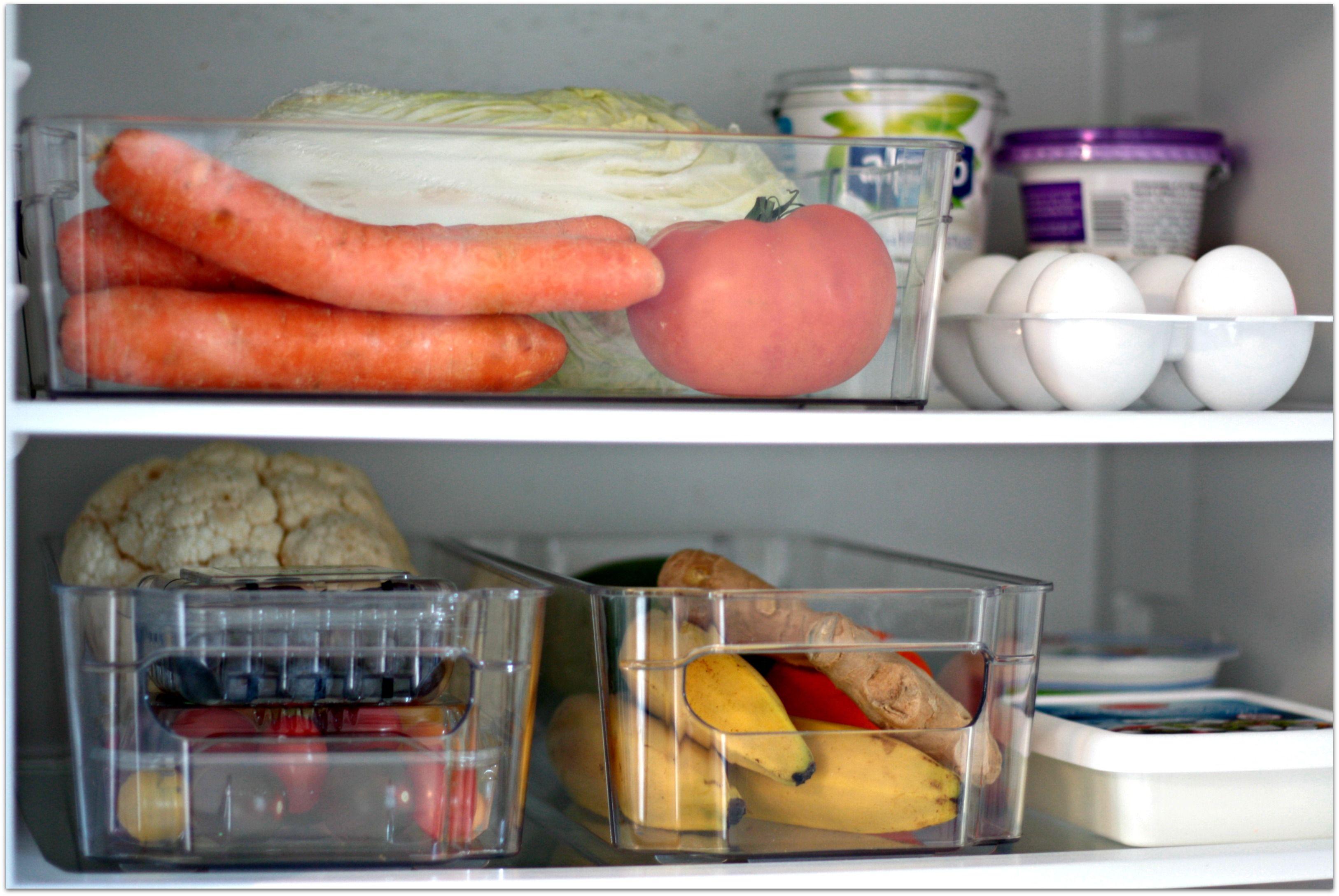Kühlschrank Ordnung : Ordnung im kühlschrank mit körbchen frag mutti