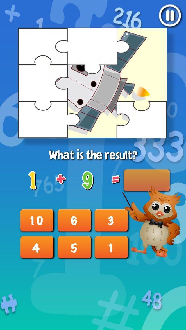 MathShaker math game for kids and children Math games