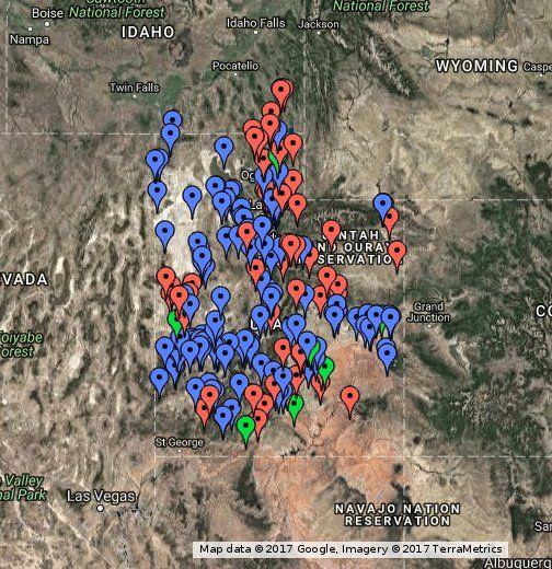 Utah Rockhounding Locations Rock Hounding Utah Rock Hunting