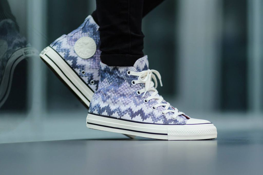 762675195c7b Missoni x Converse All Star Hi   All Star Ox