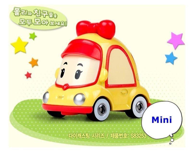 Robocar Poli Die Cast Kids Toy Diecasting Figure Series Korea Tv