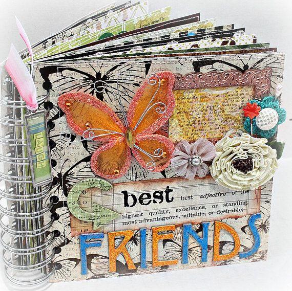 best friends a z friendship scrapbook photo album pinterest scrapbook photos friendship and. Black Bedroom Furniture Sets. Home Design Ideas