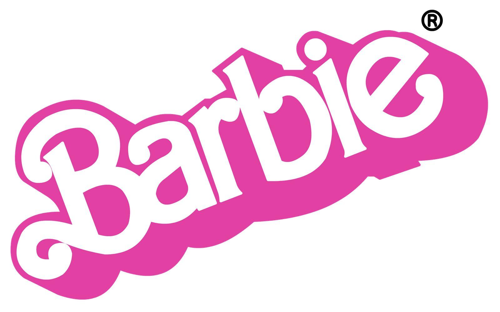 barbie logo 1975 1990 barbie pinterest birthdays rh pinterest co uk ken barbie logo font mattel barbie logo font