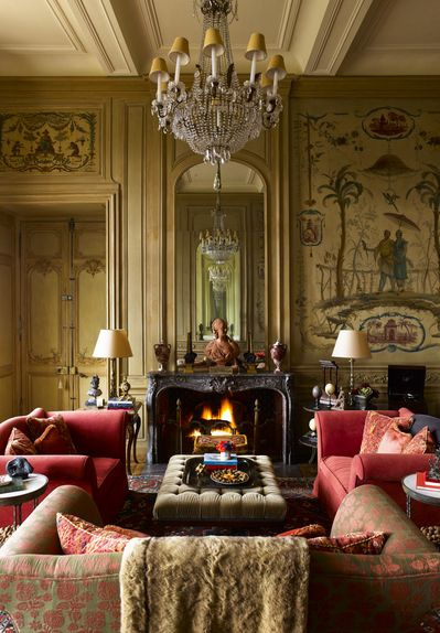 Traditional Living Room In Loire Valley Frtimothy Corrigan Interesting Traditional Living Room Review
