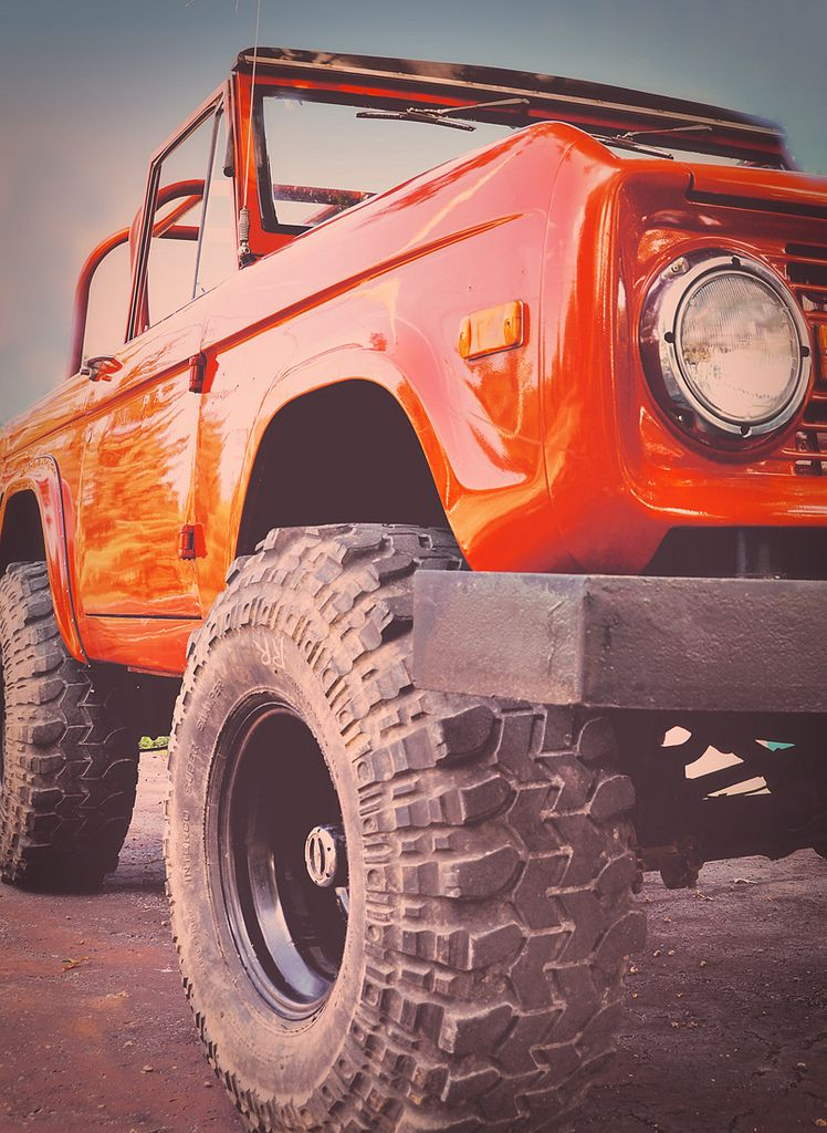 Old bronco