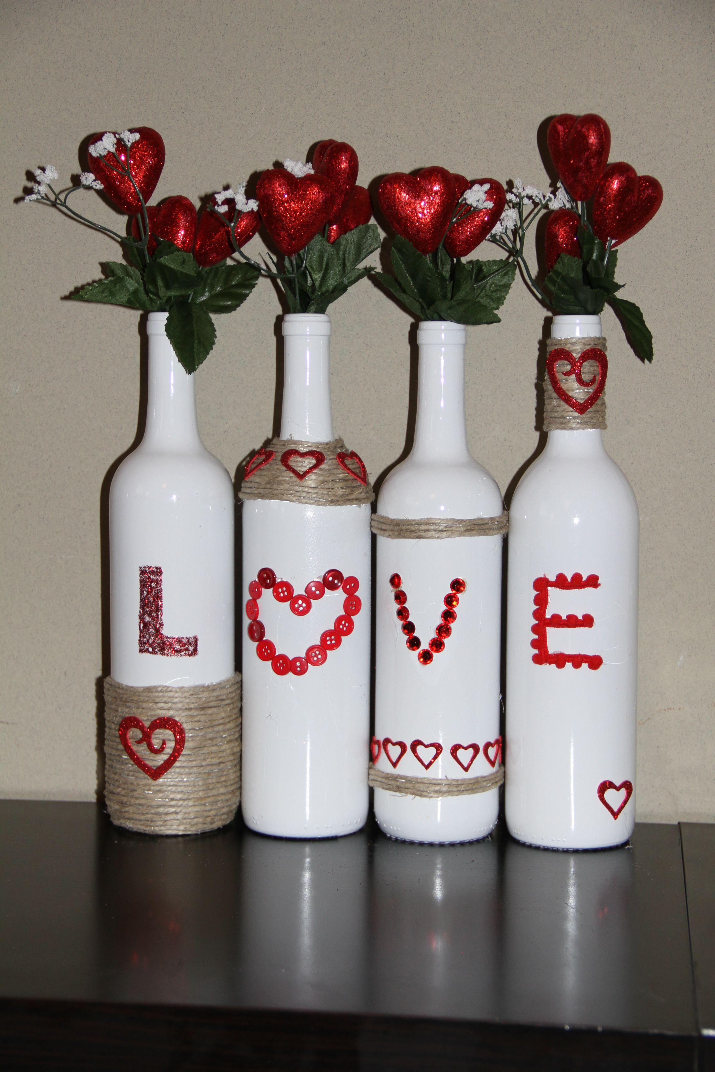 Valentine Bottles Valentines Wine Bottles Valentines Wine Valentines Day Wine