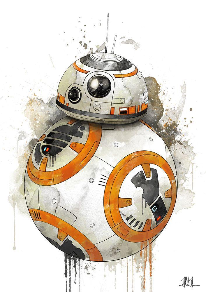 BB-8 by AlexAasen on @DeviantArt | Star Wars | Pinterest | Guerra de ...