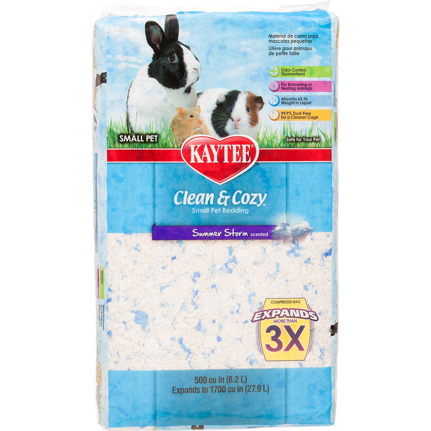 Kaytee Clean & Cozy Summer Storm Scented Small Animal
