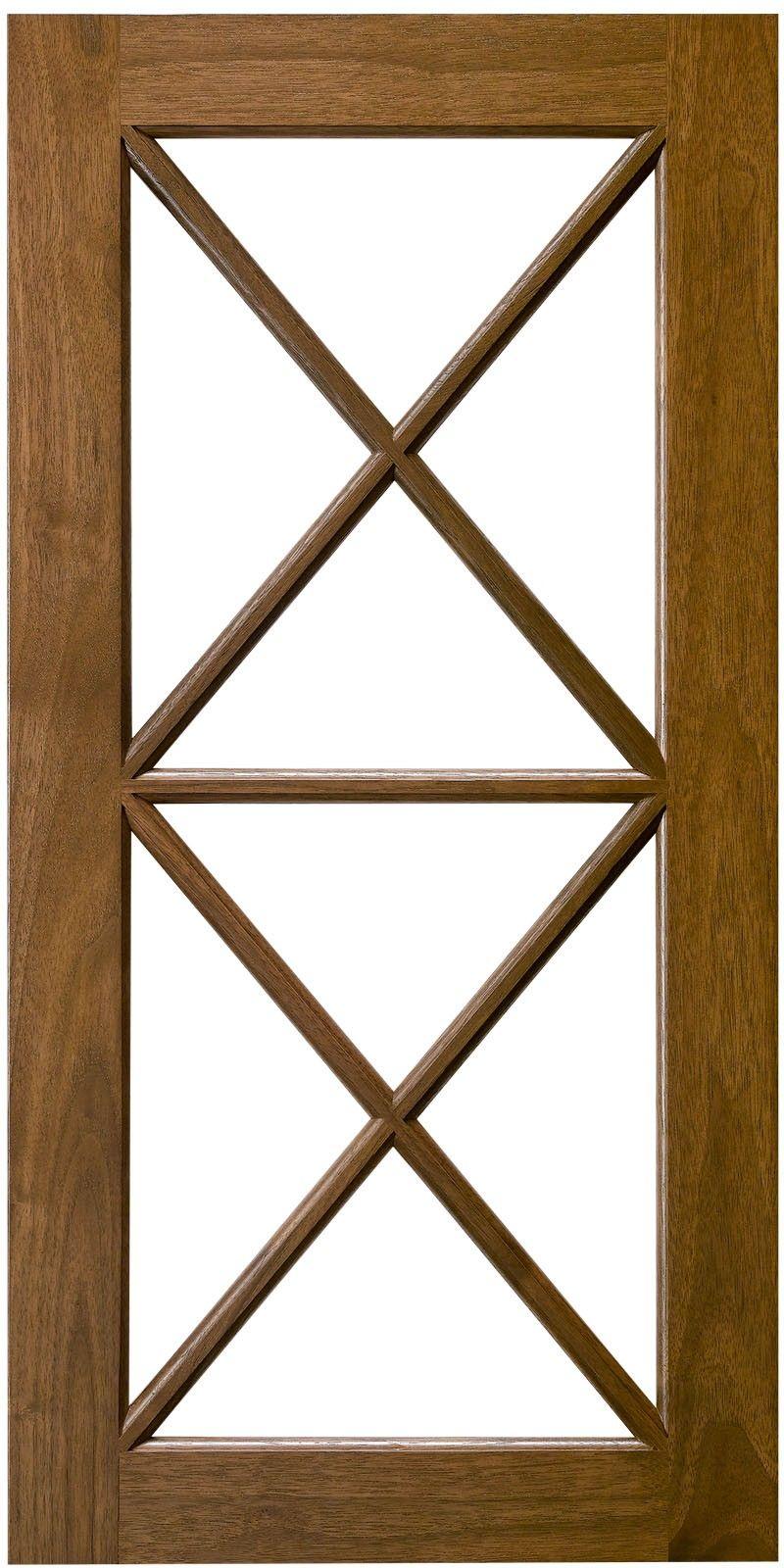 Double X Horizontal Mullion Cabinet Door Cabinet Doors Custom Cabinet Doors Doors