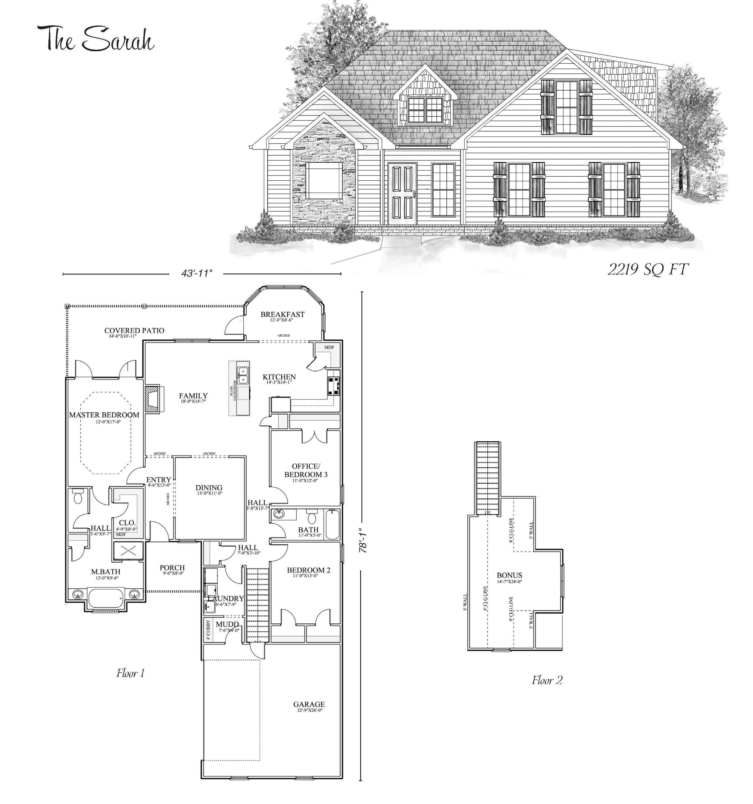 The Sarah Stoneridge Homes Huntsville Al Custom Home Builders And Madison County Alabama