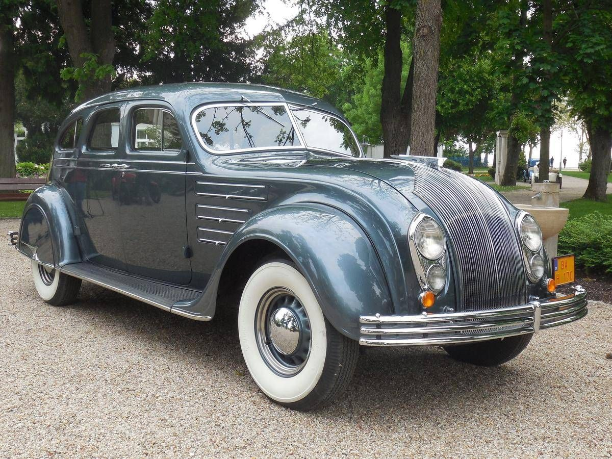 1934 Chrysler Airflow Cv Imperial Sedan With Images Chrysler