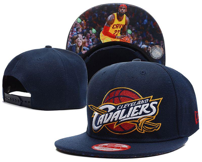 NBA Cleveland Cavaliers Snapback LeBron James Navy  a903ba18ced