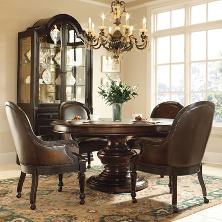 Bernhardt  Normandie Manor Game Chair 317546B  Furniture Glamorous Bernhardt Dining Room Set Design Ideas