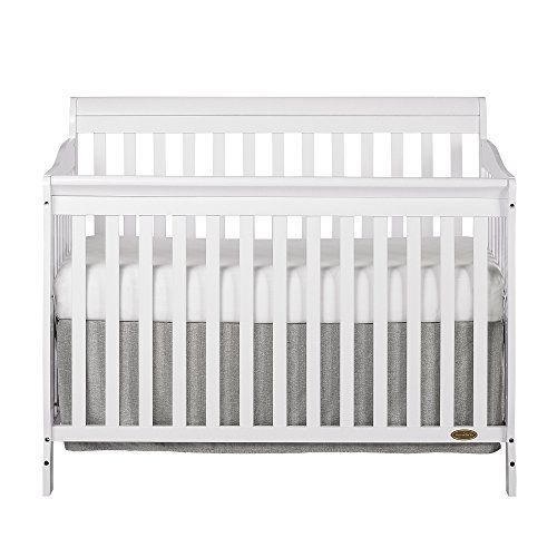 Dream On Me Ashton 5 in 1 Convertible Crib White * You can get ...