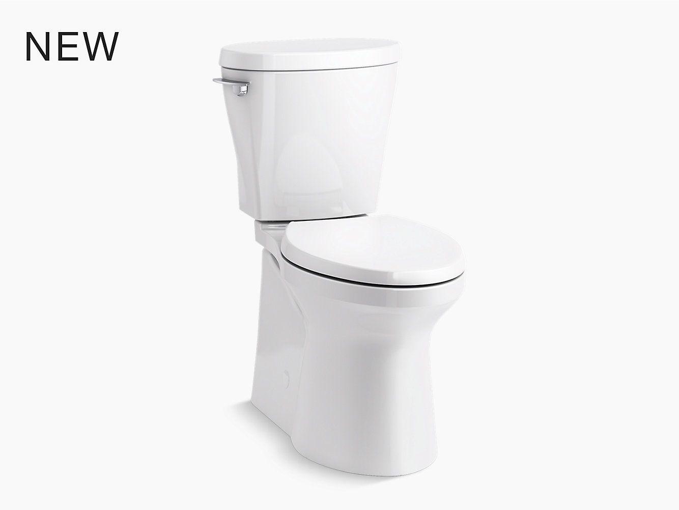 Betello Comfort Height Chair Height Skirted Toilet 1 28 Gpf K 20197 Kohler Kohler Toilet Kohler Toilet Bowl Cleaner