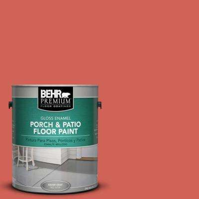 1 Gal Hdc Md 05 Desert Coral Gloss Porch And Patio Floor Paint Patio Flooring Painted Floors