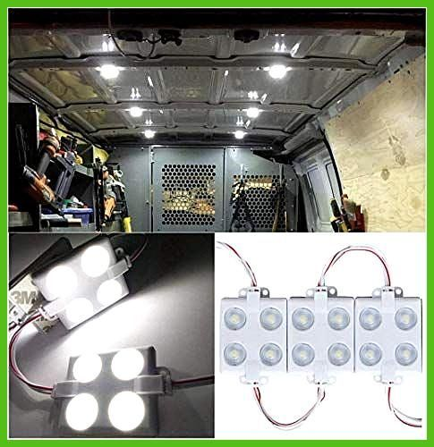 12v 40 Led Interior Lights For Vans White Waterproof Led Lamp With Led Lens Innenbeleuchtung Led Lampe Led