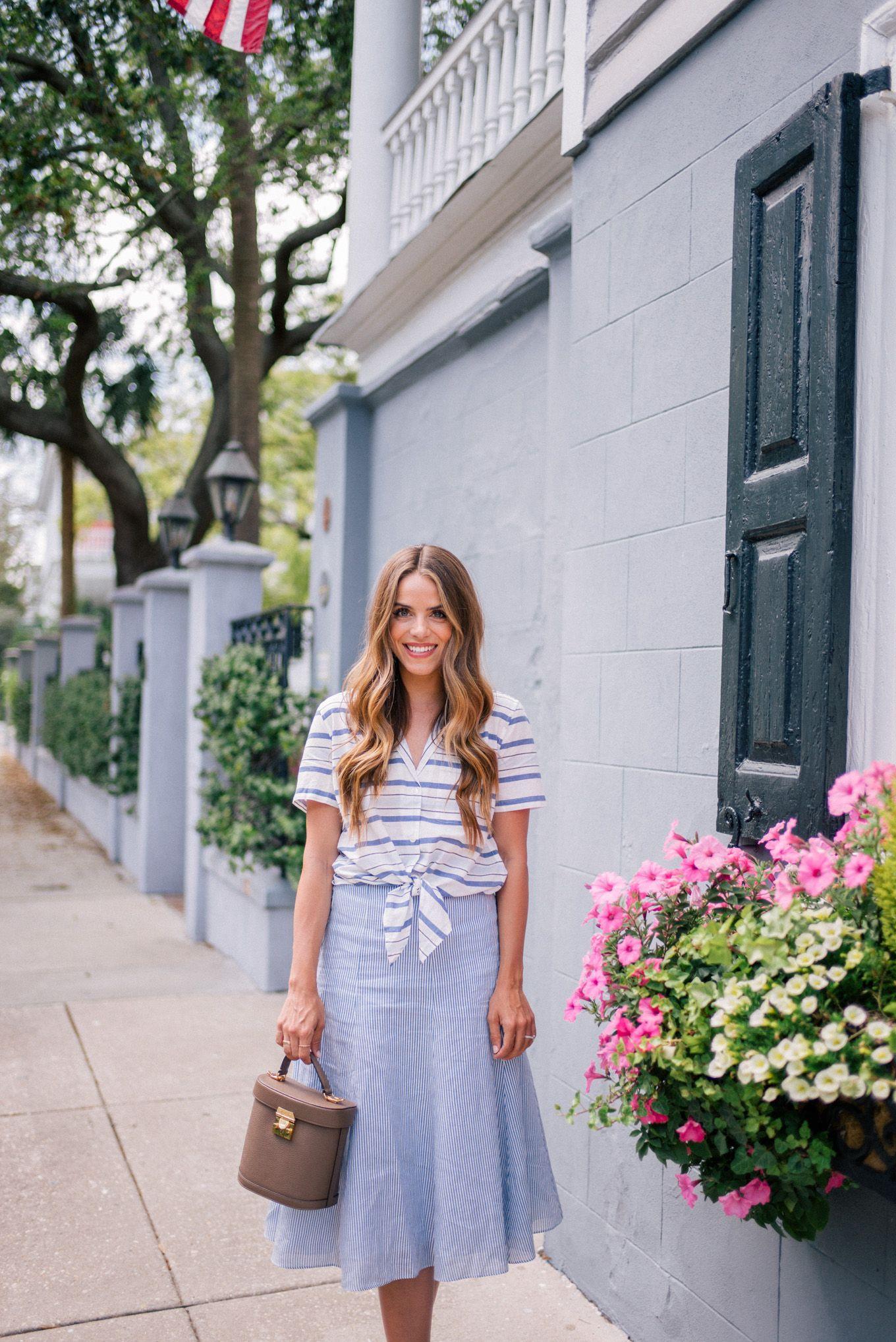 Outfit details equipment top nordstrom skirt joie heels mark