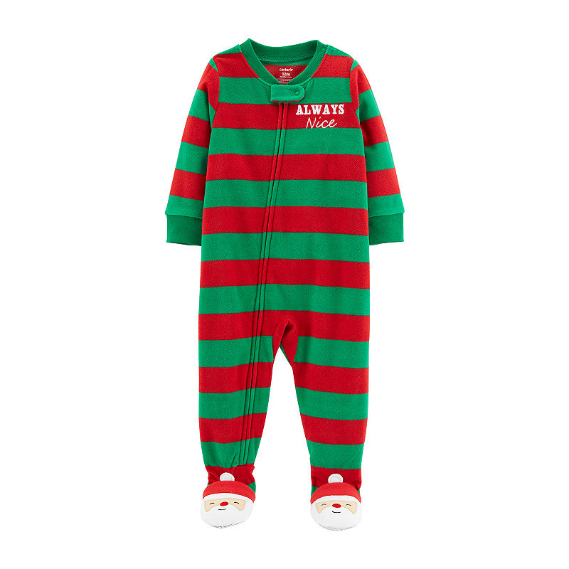 21ef8a99e452 Carter s Holiday Long Sleeve One Piece Pajama - Toddler Boys Long ...