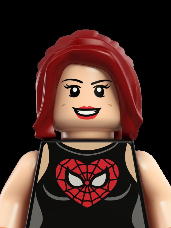 Mary Jane Watson - Personajes - LEGO.com | LEGO Marvel Super Heroes ...