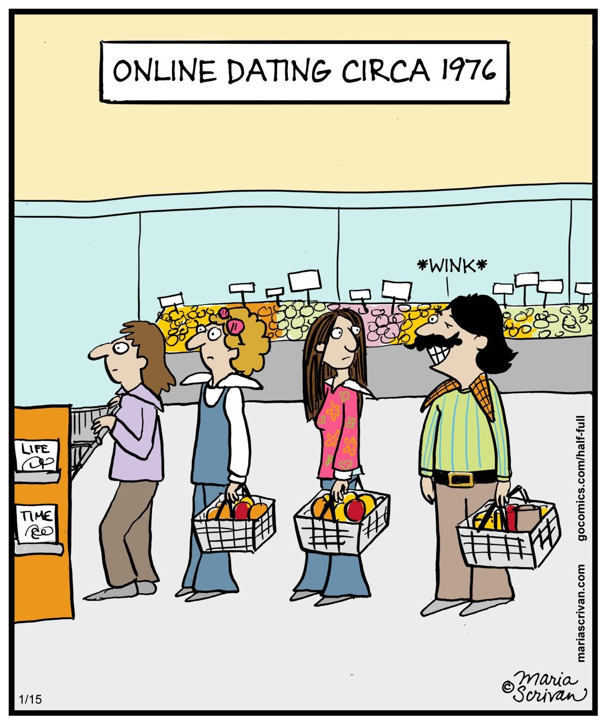 Online dating for artists