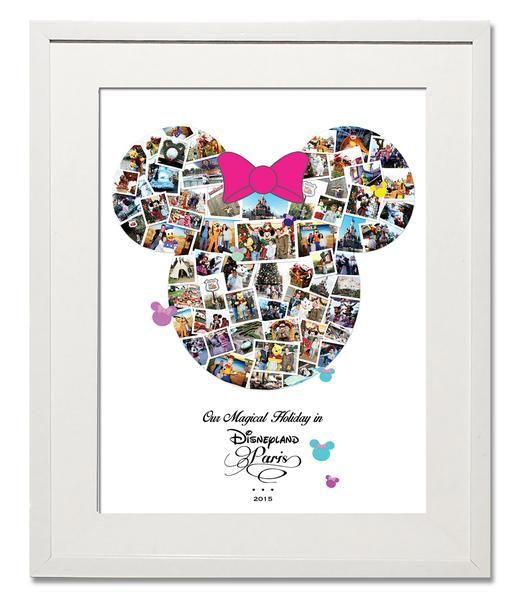 Disney Minnie Birthday Photo Montage collage