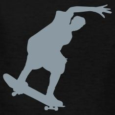 skateboarderKids Shirts, black.