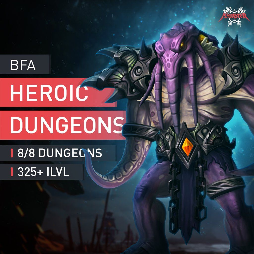Heroic Dungeons Boost Run