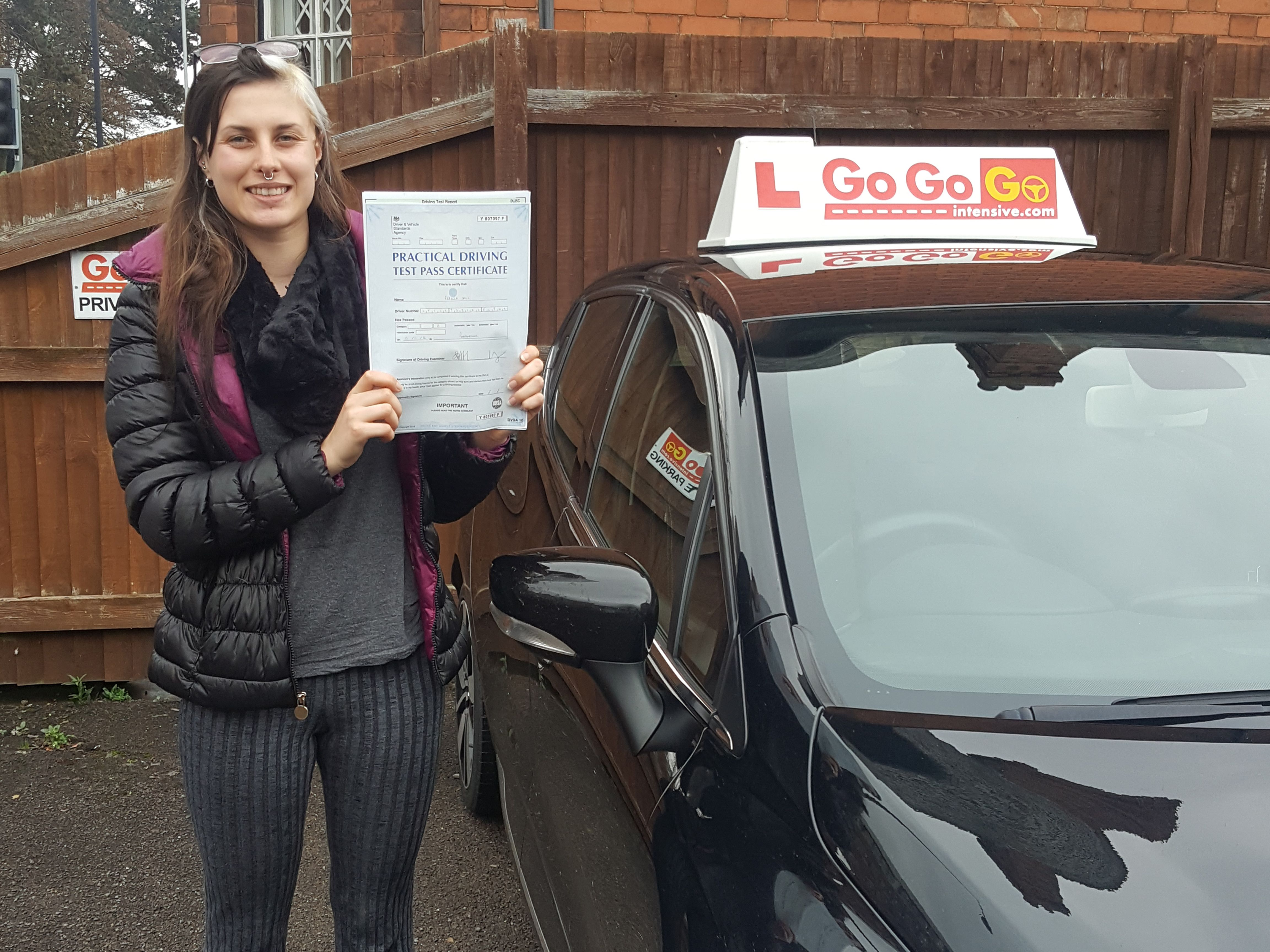 passed driving test how to get full license