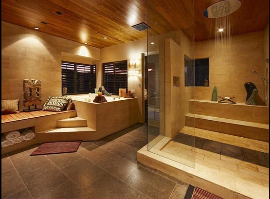 The Ridges Las Vegas Zen House, Peter Lik, Zen Bathroom/steam Shower.  LuxusHaupt Badezimmer DesignsHauptschlafzimmer ...