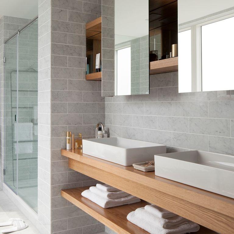 badkamer scandinavische stijl - Google zoeken - Salle de bain ...