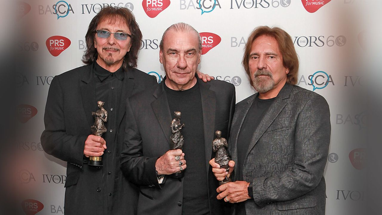 Ward lines up with Sabbath at awards bash - Classic Rock