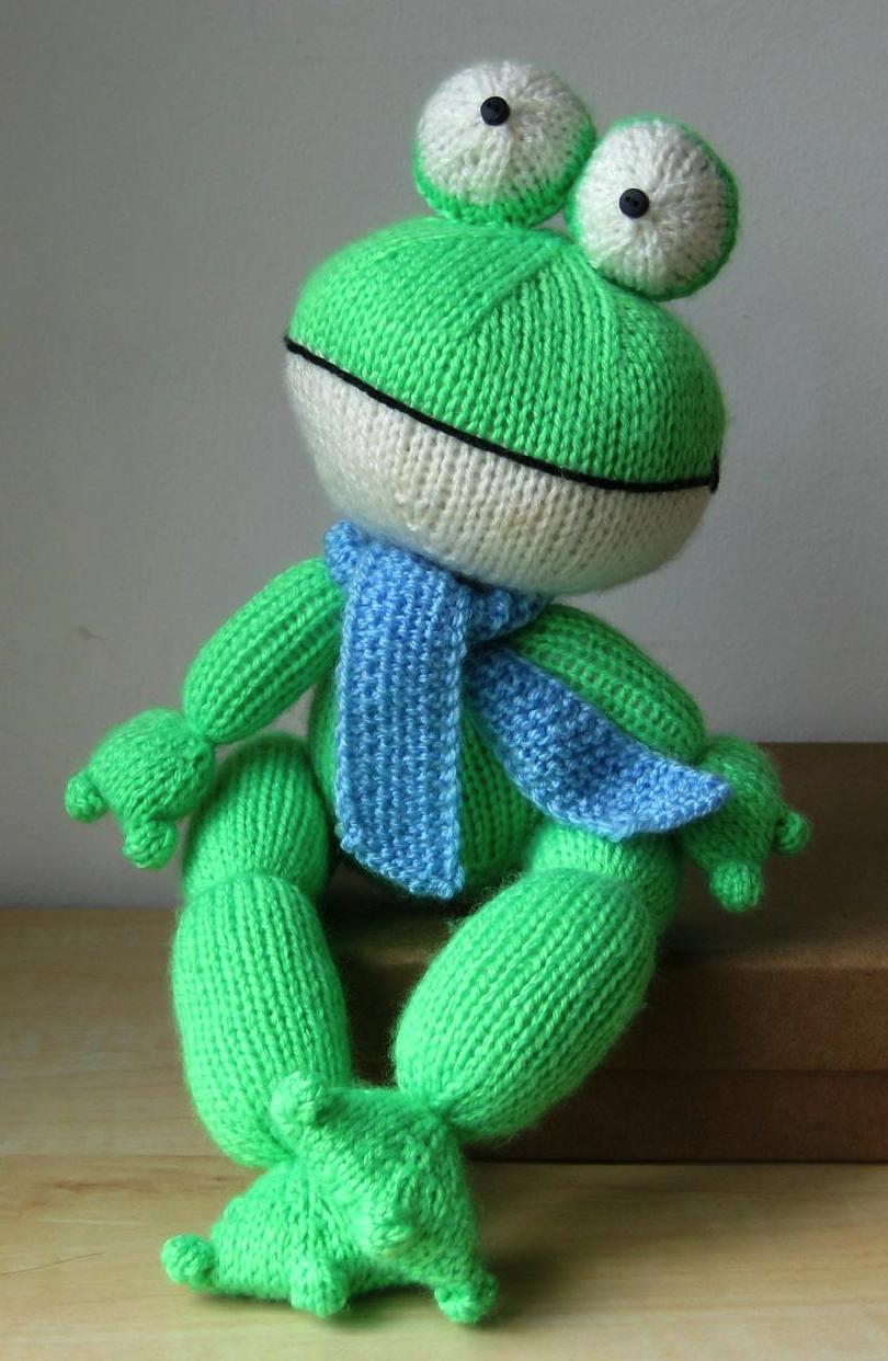 Felix the Frog knitting pattern | Aterisco | Pinterest | Knitting ...