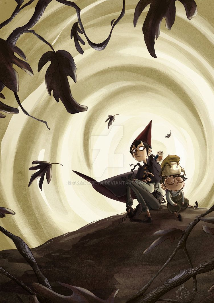 Over the garden wall _ Wirt Greg and Beatrice by GretaGreta on DeviantArt