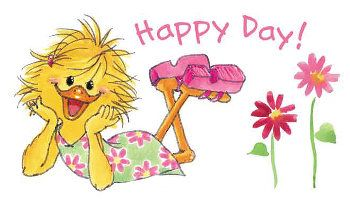 ME~ I have this rubber stamp ~~~ Have a Happy Day <3