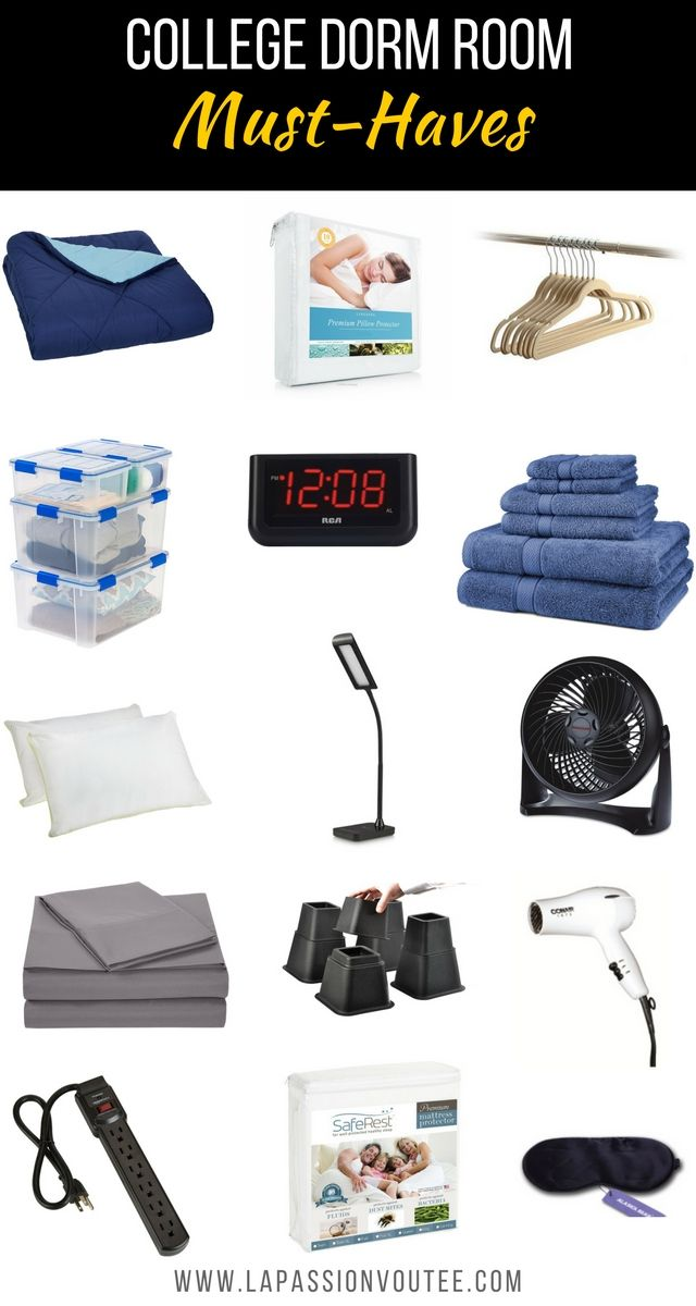 College Dorm Room Must Haves | Unsure About What To Pack And Buy For Your Part 81