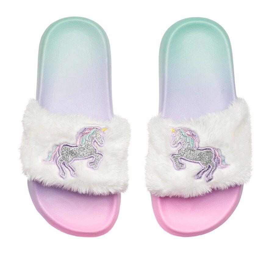 Unicorn Slide Sandals | Kohls
