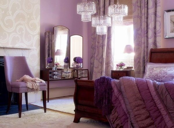 not sure my future hubby would go for an all purple bedroom set tho