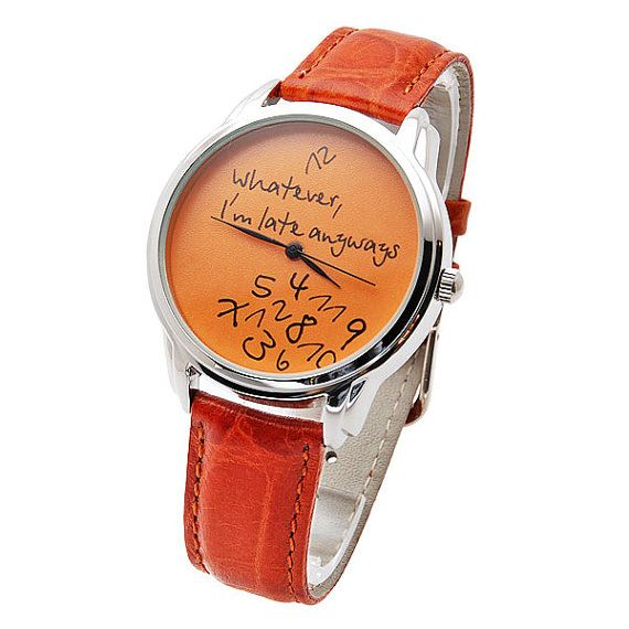 Unisex Handmade Watch with a real leather band  di HandMadePeople, $50,00