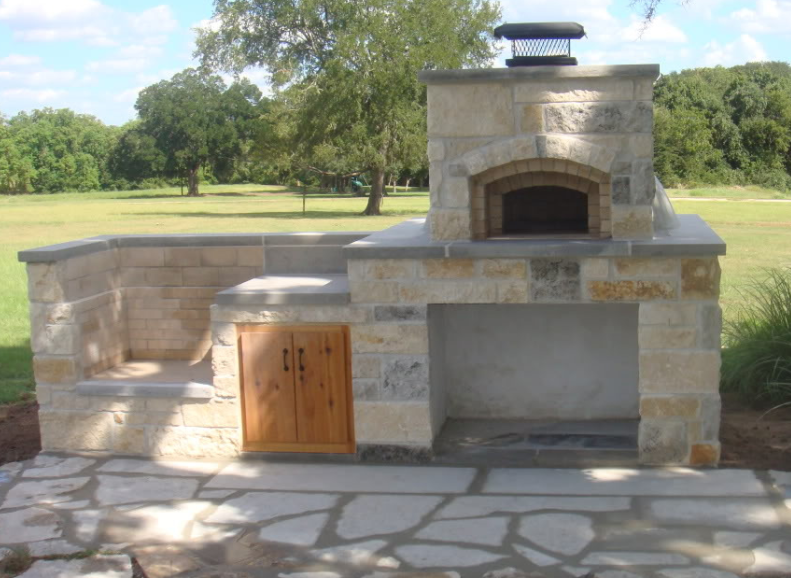 Außenküche Mit Backofen : Texas oven co. makes the most baller outdoor grills and ovens